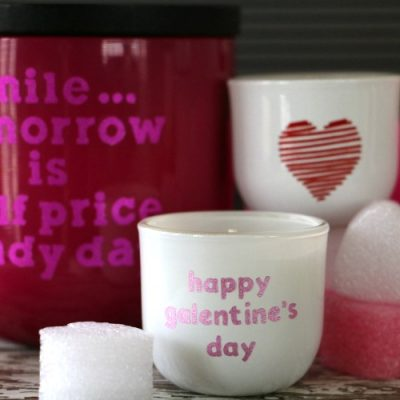 DIY Valentine's or Galentine's Day Cricut Gift Idea