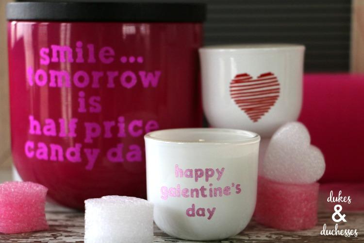 DIY Valentine's or Galentine's Day Cricut Gift Idea