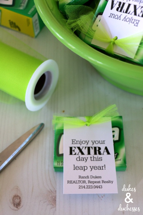 extra day gift idea for leap year