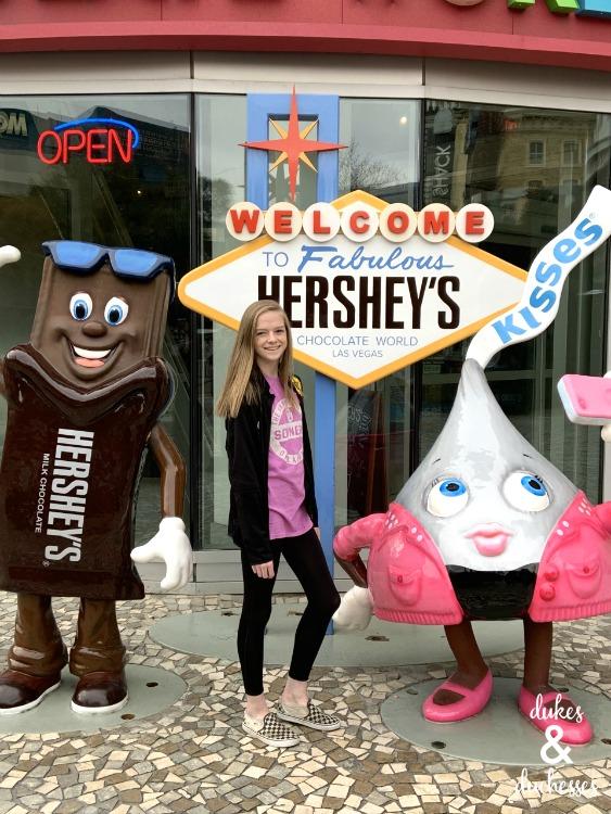 hersheys chocolate world in las vegas