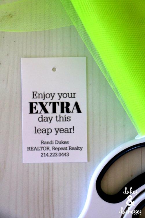 leap year printable