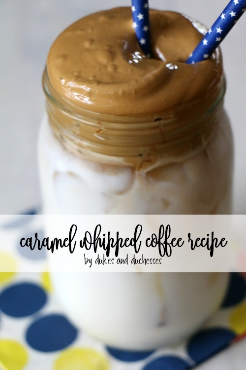 caramel whipped coffee recipe