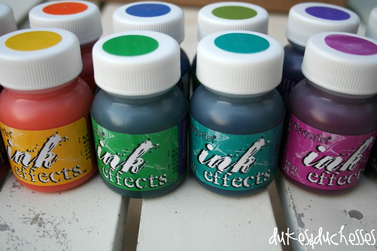 decoart ink effects