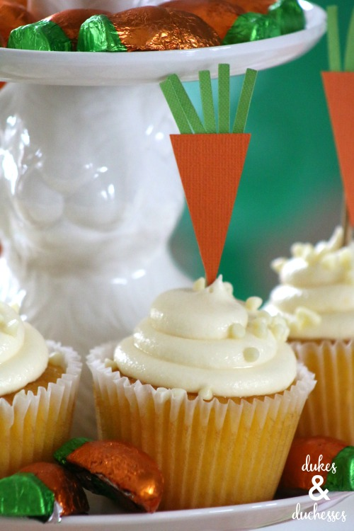 homemade easter cupcake toppers