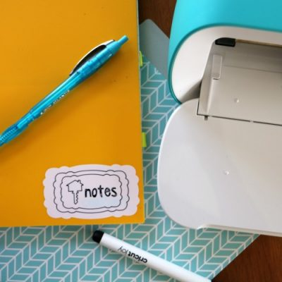 5 Easy Ways to Organize your Home with Cricut Joy