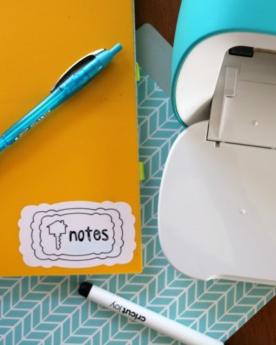 how to make notebook labels