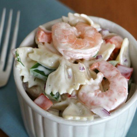 Easy Shrimp Pasta Salad Recipe