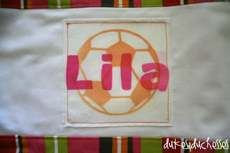 soccer bag for girl