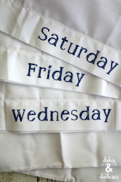 day of the week acne pillowcases