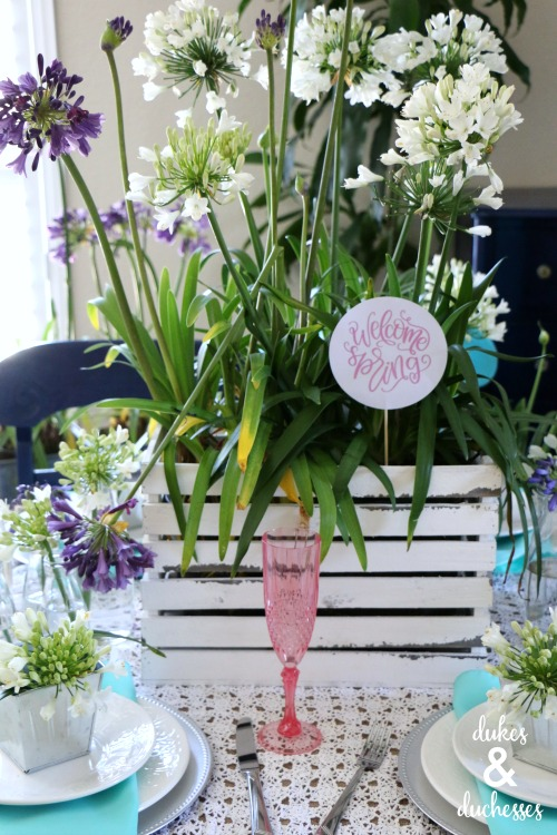 how to decorate for mothers day