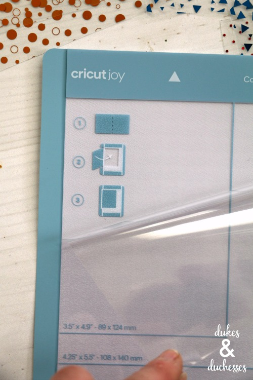 how to use cricut joy card mat