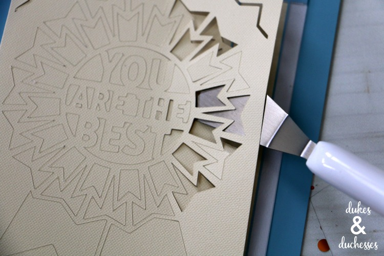 how to weed cricut joy card inserts