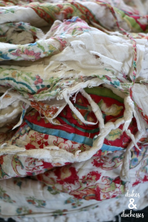 how to upcycling a quilt