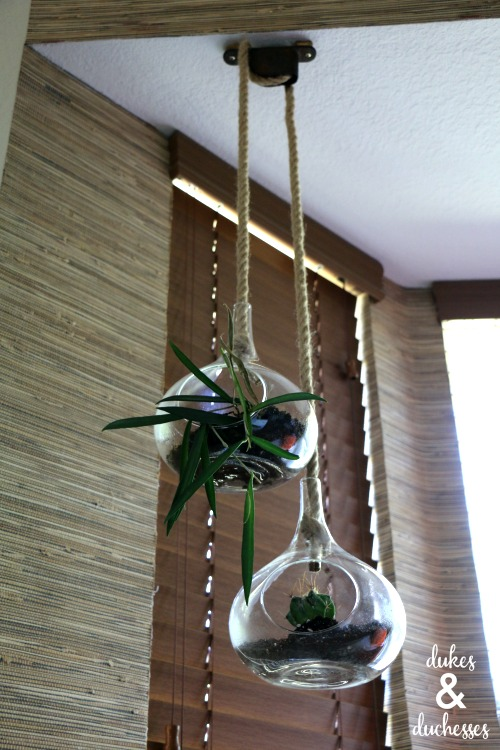 DIY upcycled planter idea