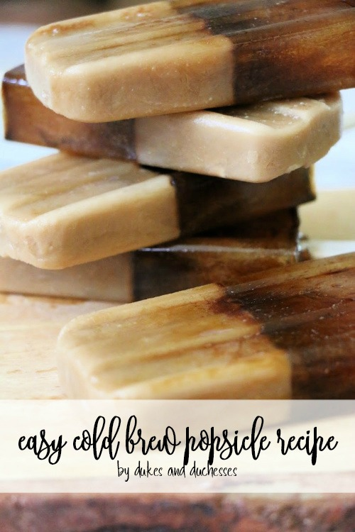 easy cold brew popsicle recipe