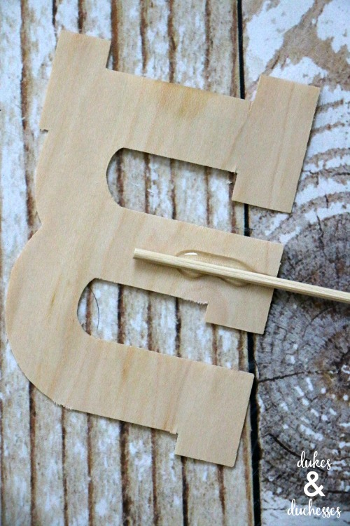 easy wood garden markers