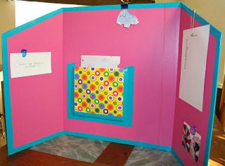 DIY homeschool study station