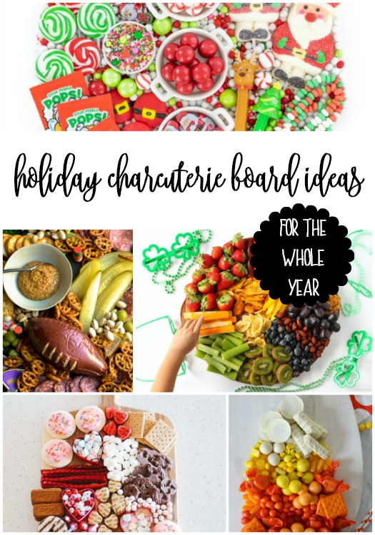 holiday charcuterie board ideas for the whole year