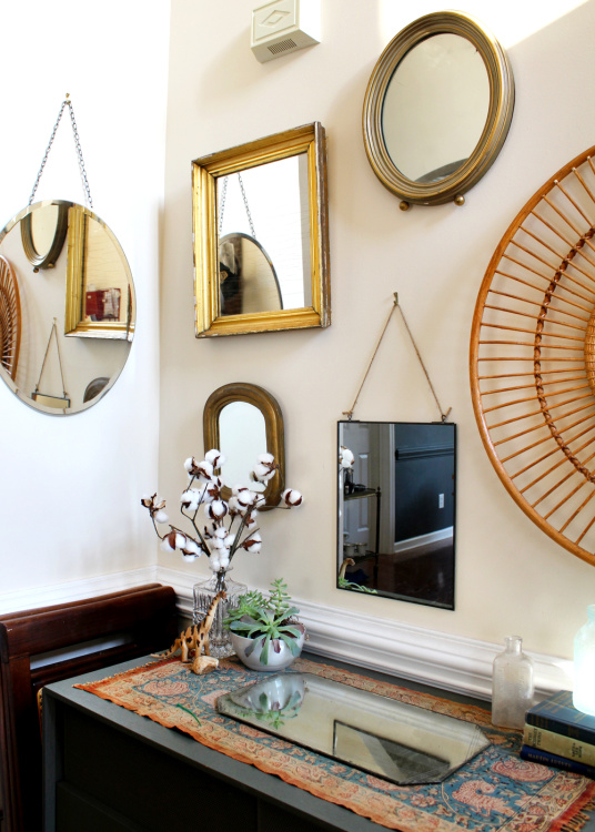 gallery wall mirror collection