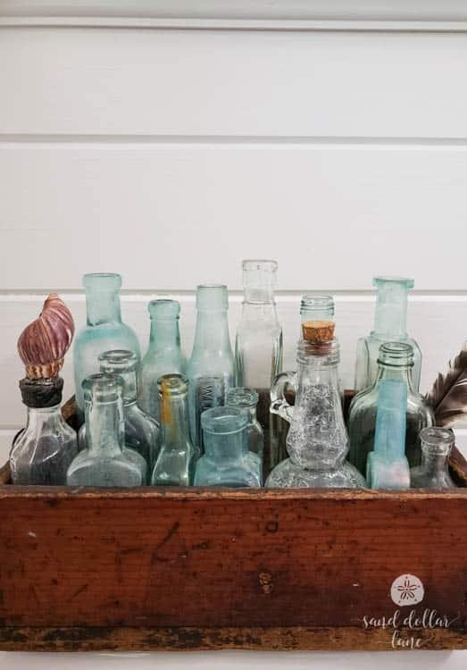 vintage medicine bottle collection