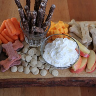 Dog Treat Barkuterie Board
